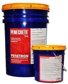 Пенекрит (гидроизоляция швов, стыков, трещин, примыканий в бетоне)